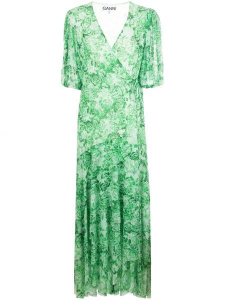 Sukienka midi mini dla wysokich kobiet Ganni