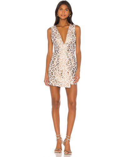 Sukienka dla wysokich kobiet lampart Camila Coelho