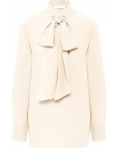 Блузка с бантом шелковая Chloé