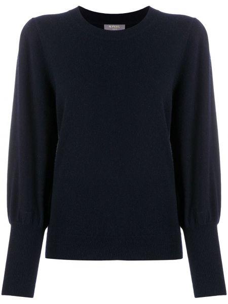 Кашемировый свитер - синий N.peal