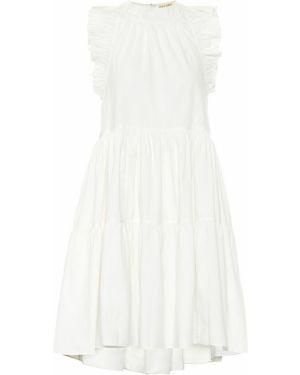 Теплое платье из поплина Ulla Johnson