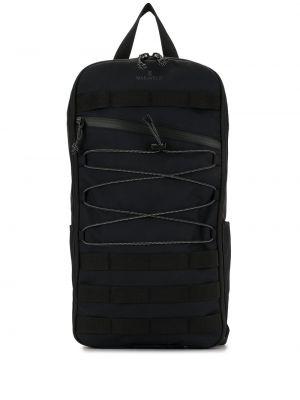 Зеленая нейлоновая сумка на плечо на молнии Makavelic