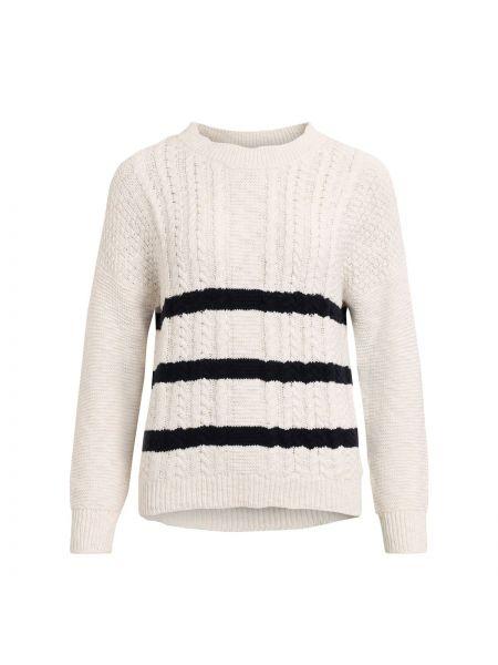 Пуловер в полоску длинный Vila