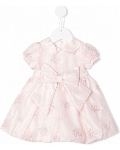 Różowa sukienka bawełniana Colorichiari