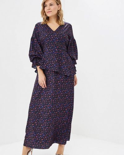 Повседневное платье осеннее Lost Ink Plus