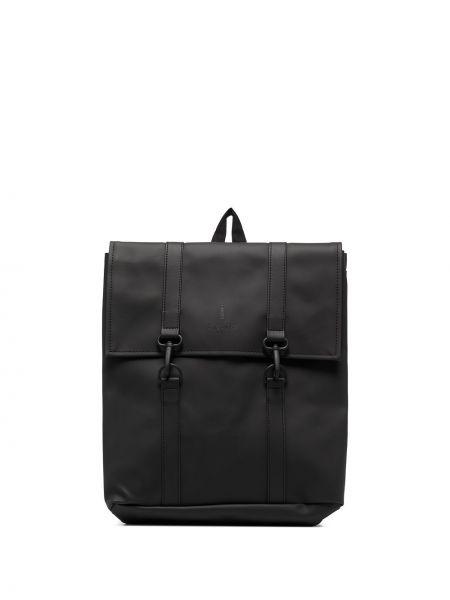 Черная сумка с пряжкой Rains