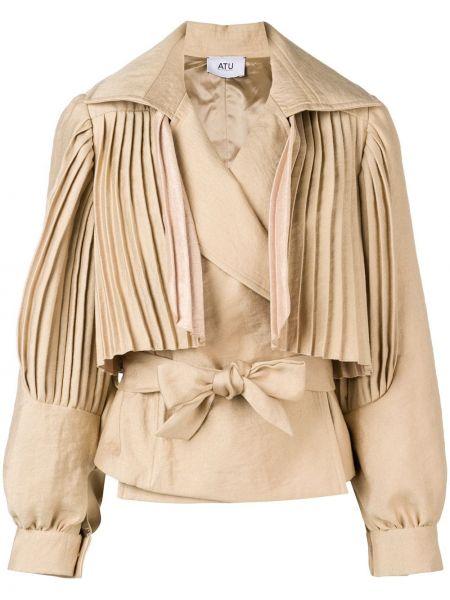 Короткая куртка с запахом Atu Body Couture