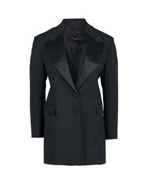 Пиджак черный шерстяной Patrizia Pepe