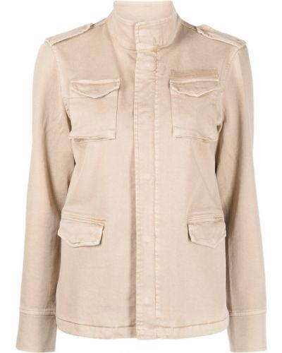 Коричневая хлопковая куртка Anine Bing