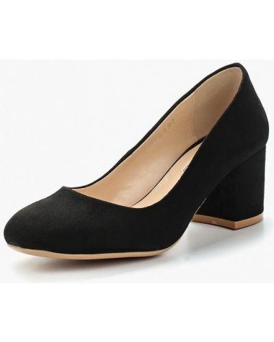 Туфли на каблуке велюровые Inario