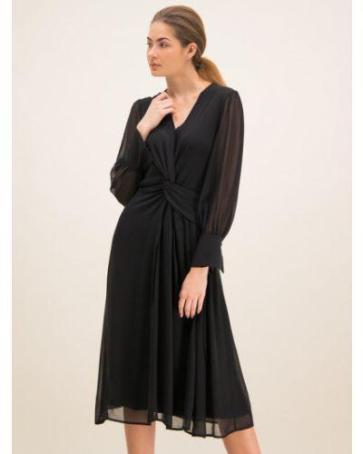 Czarna sukienka koktajlowa Laurel