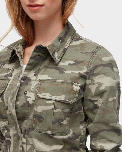 Куртка милитари с поясом Tom Tailor
