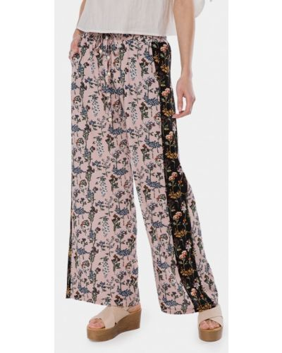 Розовые брюки Mr520