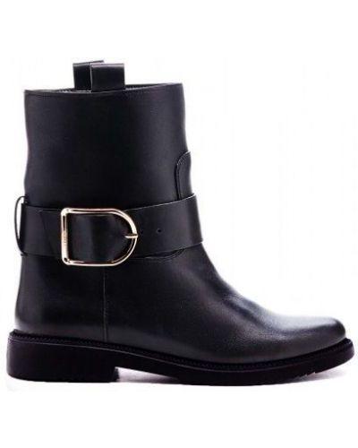 Кожаные сапоги кожаные черные Modus Vivendi