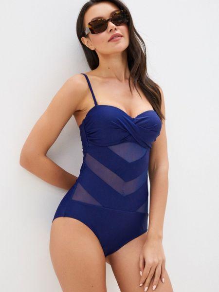 Слитный купальник синий Delice