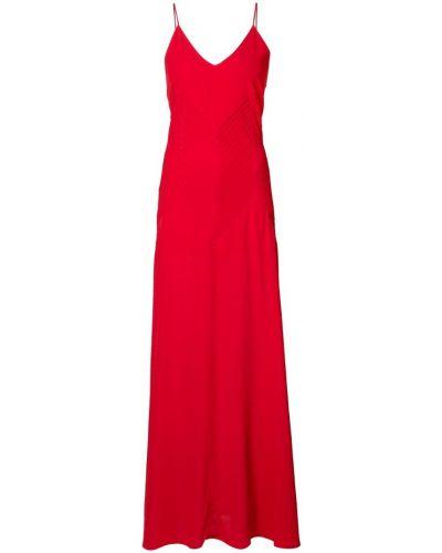 Платье с V-образным вырезом с открытой спиной на бретелях Anine Bing