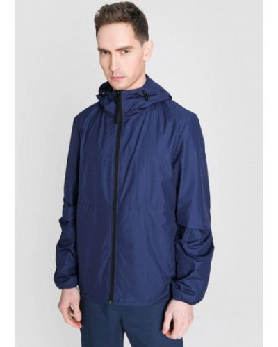 Облегченная синяя куртка O'stin