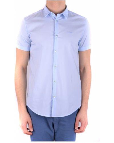 Koszula - niebieska Armani Jeans
