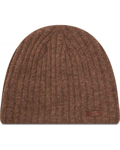 Brązowa czapka beanie Barts