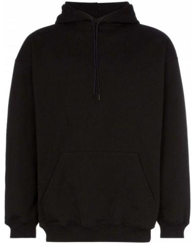 Bluza z kapturem z kapturem czarna Balenciaga