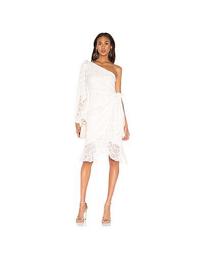 Платье миди с вышивкой из вискозы Keepsake