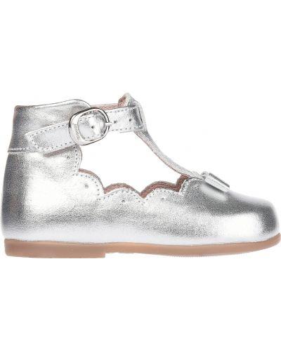 Серебряные туфли Jacadi Paris