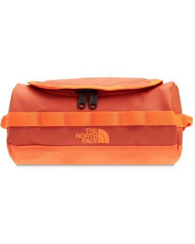Оранжевый несессер The North Face