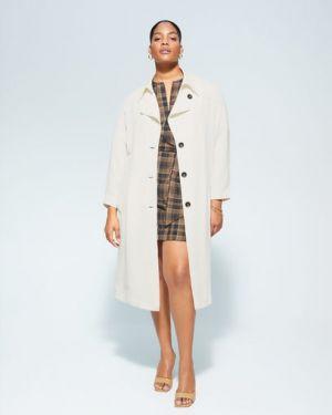 Пальто с воротником пальто Mango