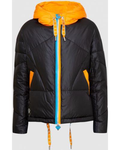Куртка с мехом - черная Florence Mode