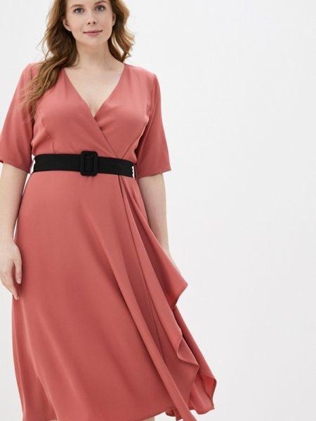 Повседневное платье коралловый красный Kitana By Rinascimento