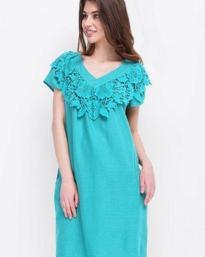 Платье весеннее бирюзовый Ruta-s