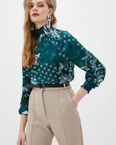 Зеленая с рукавами блузка Ted Baker London