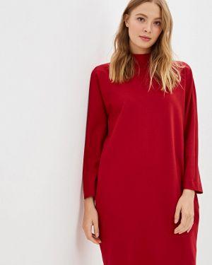 Платье прямое красный Ruxara