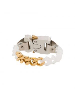 Золотой браслет золотой с пряжкой прозрачный 1017 Alyx 9sm