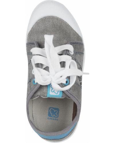 Кеды кожаный на шнурках Kakadu