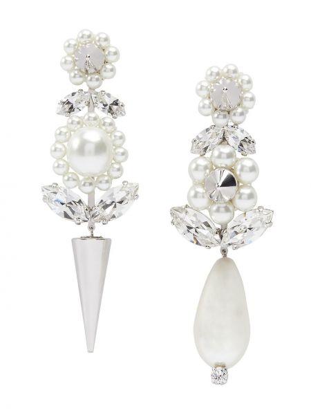 Kolczyki pierścionki kolczyki ze sztyftem z perłami Simone Rocha