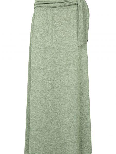 Długa spódnica - zielona Mountain Warehouse