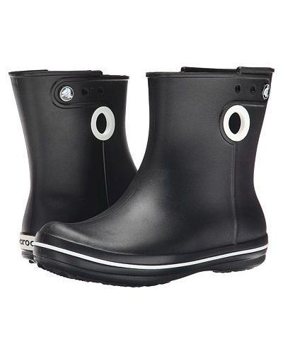 Резиновые сапоги - черные Crocs