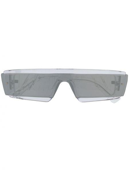 Муслиновые прямые солнцезащитные очки прямоугольные Diesel