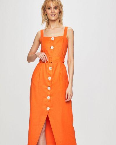 Платье с карманами на пуговицах Glamorous