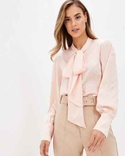 Розовая блузка с бантом Rivadu