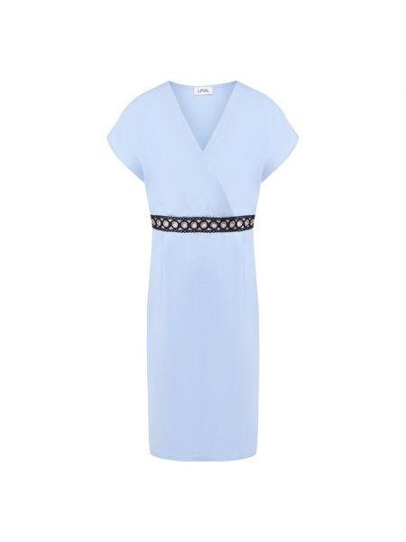 Льняное платье - синее La Fabbrica Del Lino