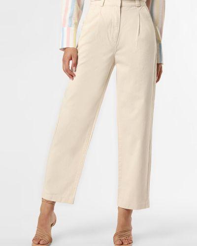 Beżowe spodnie bawełniane Edited