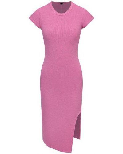 Платье из вискозы - розовое Monrow