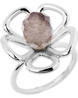 Кольцо из серебра с декоративной отделкой Nina Ricci