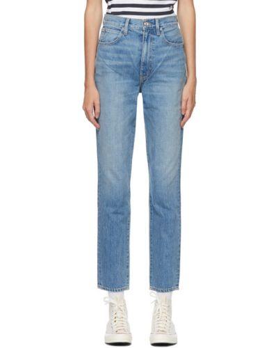 Зауженные серебряные джинсы-скинни стрейч Slvrlake