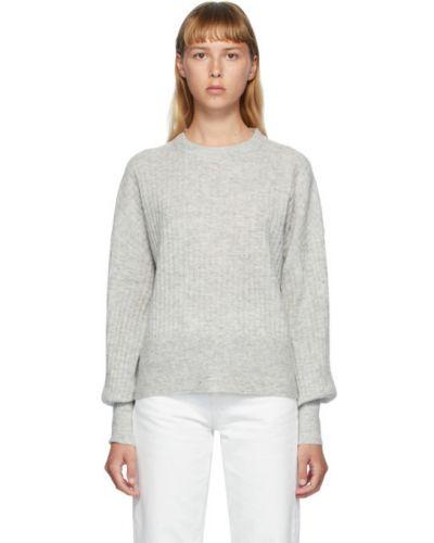 С рукавами шерстяной длинный свитер с воротником Won Hundred