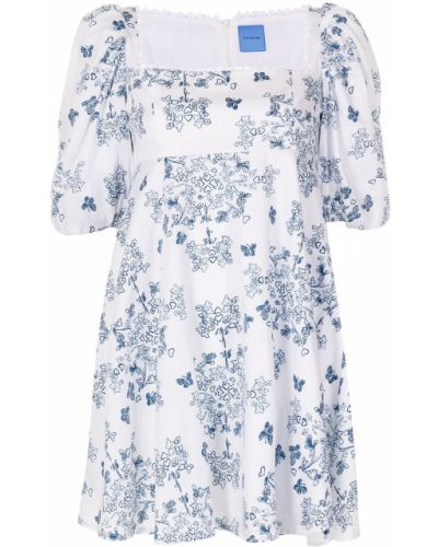 Платье мини короткое - синее Macgraw