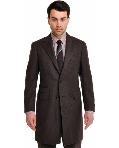 Пальто шерстяное кашемировое Ermenegildo Zegna