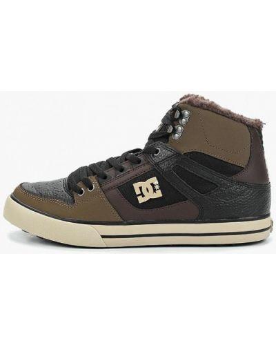 Высокие кеды черные демисезонный Dc Shoes